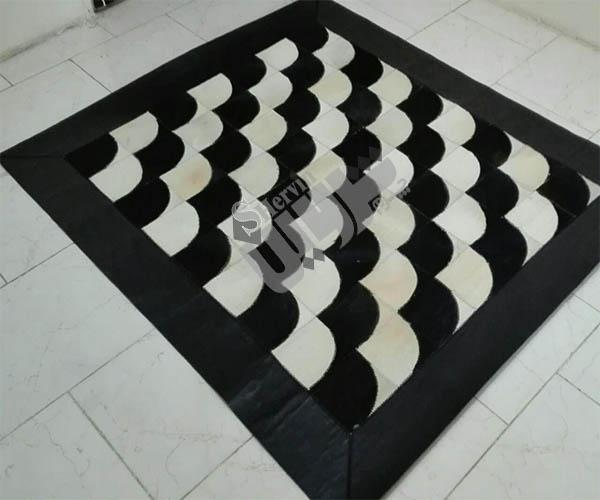 فرش انواع فرش چرم اصل